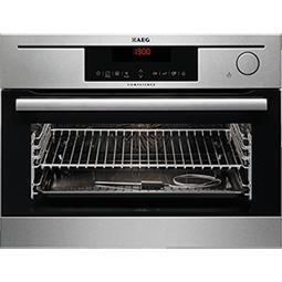 AEG KS8404721M Electric Built-in Steam Oven Antifingerprint Stainless Steel