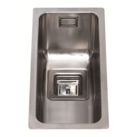 CDA Single Bowl Stainless Steel Chrome Kitchen Sink - KSC21SS
