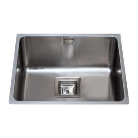 CDA KSC24SS Square Undermount Single Bowl Stainless Steel Sink