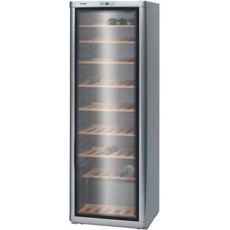 Bosch KSW30V81GB 120 Bottle Freestanding Wine Cooler Silver