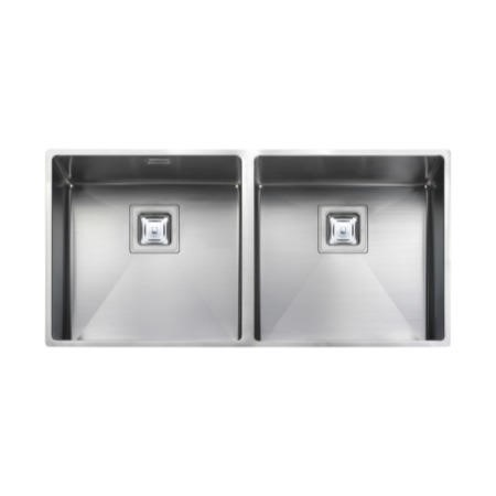 Rangemaster KUB4040 Kube Undermount 400x400 400x400 2.0 Bowl Stainless Steel Sink