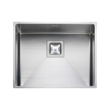 Rangemaster KUB50 Kube Undermount 500x400 1.0 Bowl Reversible Stainless Steel Sink