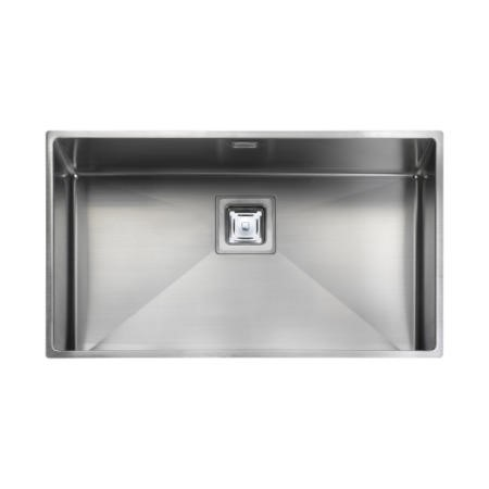 Rangemaster KUB70 Kube Undermount 700x400 1.0 Bowl Reversible Stainless Steel Sink