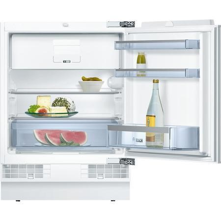 Bosch Serie 6 KUL15A60GB Classixx 125 Litre Integrated Under Counter Fridge A++ Energy Rating 60cm Wide  - White