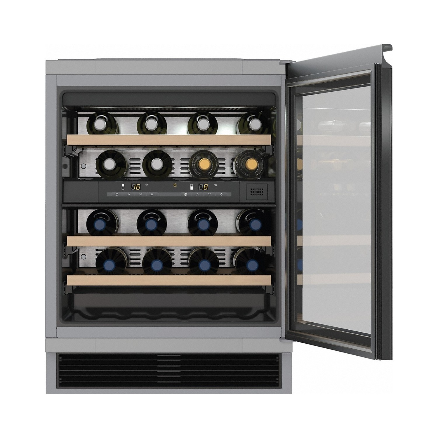 Miele KWT6321UG Under Counter Dual Zone Wine Cooler | Appliances ...