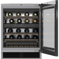 Miele KWT6322UG Under Counter Dual Zone Wine Cooler With Push-to-open