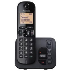 Panasonic KX-TGC220EB DECT Call Block TAM - Single in Black