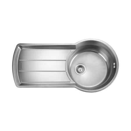 Rangemaster KY10001 Keyhole 1000x520 1.0 Bowl Reversible Stainless Steel Sink