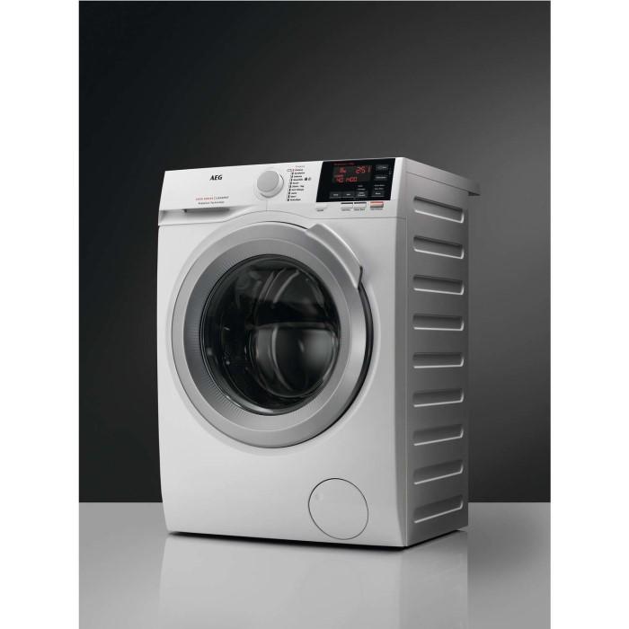 aeg l6fbi862n 6000 series 8kg 1600rpm freestanding washing machine white appliances direct