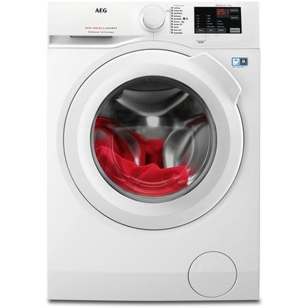 AEG L6FBI741N 6000Series 7kg 1400rpm Freestanding Washing Machine-White