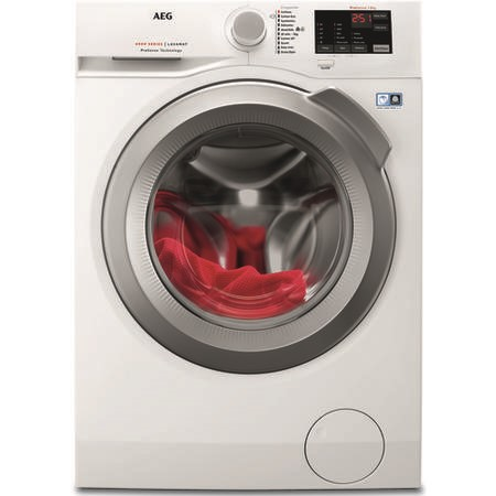 AEG L6FBI842N 6000 Series 8kg 1400rpm Freestanding Washing Machine - White