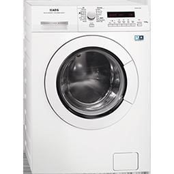 GRADE A1 - AEG L75670NWD 7kg/4kg 1600rpm Freestanding Washer Dryer in White