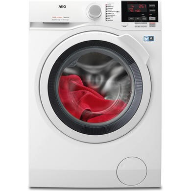 AEG L7WBG741R 7kg Wash 4kg Dry 1400rpm Freestanding Washer Dryer-White