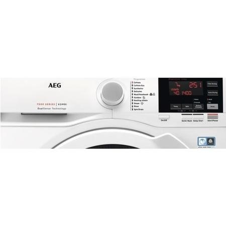 AEG L7WBG741R 7000 Series 7kg Wash 4kg Dry 1400rpm Freestanding Washer Dryer-White