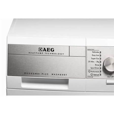 AEG L99695HWD OkoKombi 9kg Wash  6kg Dry  1600rpm  Freestanding Washer Dryer White