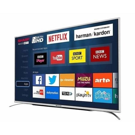 "Sharp LC-55CUG8362KS 55"" 4K Ultra HD LED Smart TV with Freeview HD"