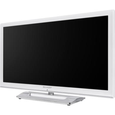 Sharp LC24LE250K-WH 24 Inch Freeview LED TV