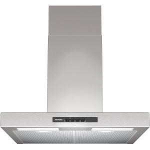 Siemens LC64BA521B Box-style 60cm Wide Chimney Cooker Hood Stainless Steel