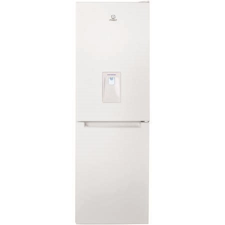 Indesit LD70N1WWTD Freestanding Fridge Freezer With Water Dispenser - Polar White