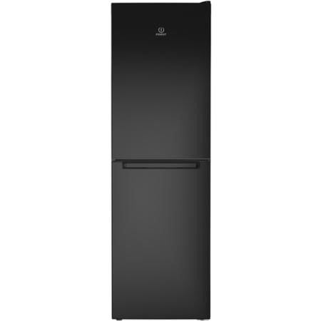 Indesit LD85F1K 189x60cm 294L Freestanding Fridge Freezer - Shiny Black