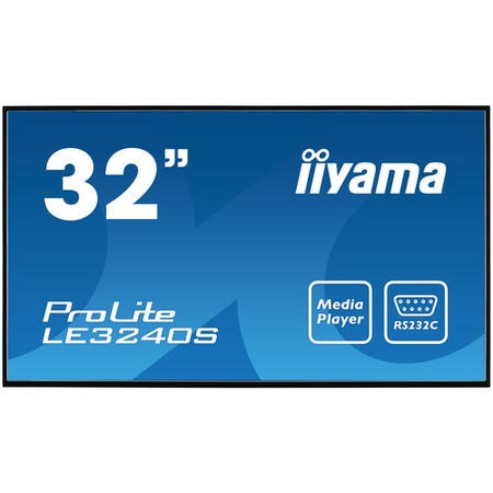 "Iiyama LE3240S-B1 32"" Full HD LED Large Format Display"