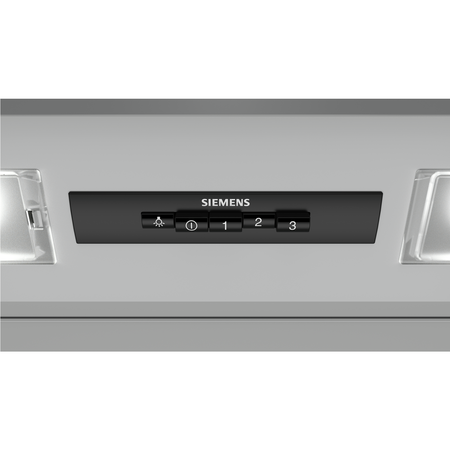 Siemens LE63MAC00B 60cm Integrated Cooker Hood - Silver