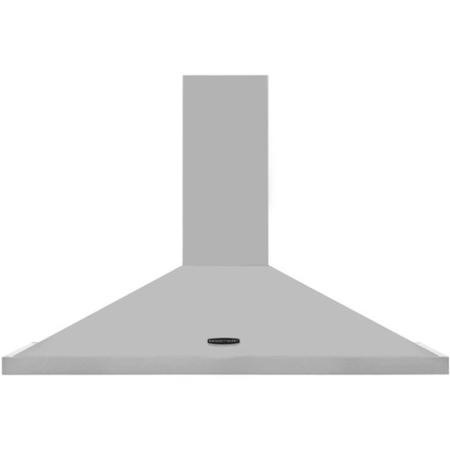 Rangemaster LEIHDC100SSC 95680 100cm Chimney Cooker Hood Stainless Steel With Chrome Badge