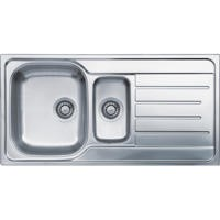 Reginox LEMANS1.5 1.5 Bowl Reversible Stainless Steel Sink