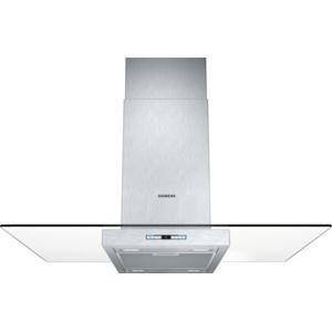 Siemens LF98GB542B 90cm Chimney Cooker Hood With Flat Glass Canopy Stainless Steel