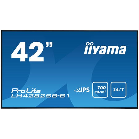 "Iiyama LH4282SB-B1 42"" Full HD LED Large Format Display"