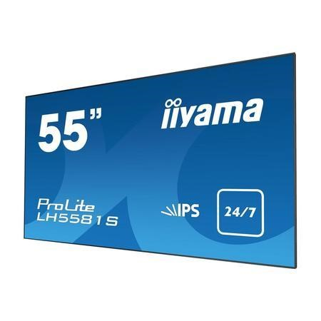 "Iiyama LH5581S-B1 55"" Full HD LED Large Format Display"