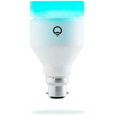 LiFX Smart Colour and White WiFi Light Bulb with B22 Bayonet Ending