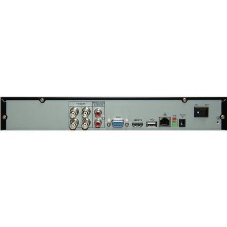Lorex CCTV System - 4 Channel 720p DVR with 2 x 720p Cameras & 500GB HDD