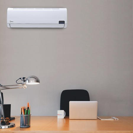Midea 24000 BTU Wall Mounted Inverter Air Conditioner with Heat Pump