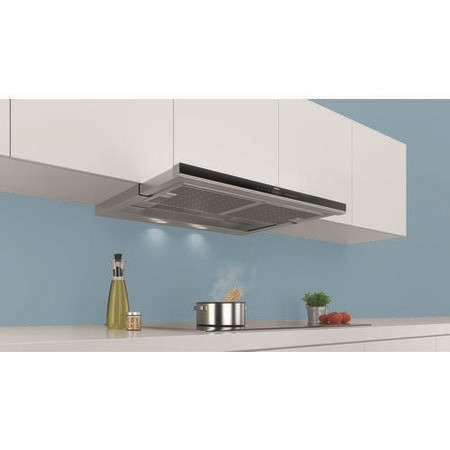 Siemens LI99SA680B 90cm Wide Telescopic Canopy Cooker Hood Stainless Steel