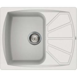 Reginox LIVING125-W 1.0 Bowl Regi-Granite Composite Sink With Compact Reversible Drainer Granitetek
