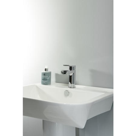 Stark Waterfall Mono Basin Mixer Tap & Waste