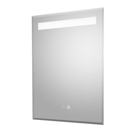 Illuminated LED Touch Bathroom Mirror - 500mm x 700mm