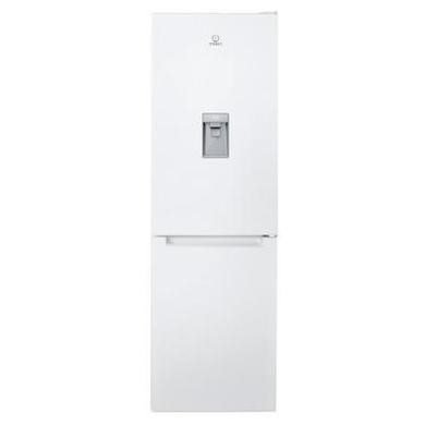 Indesit LR8S1WAQ Polar White Freestanding Fridge Freezer With Non-plumb Water Dispenser