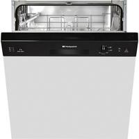 Hotpoint LSB5B019B 13 Place Semi-integrated Dishwasher - Black Control Panel