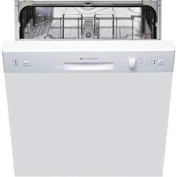 Hotpoint LSB5B019W 13 Place Semi-integrated Dishwasher - White Control Panel