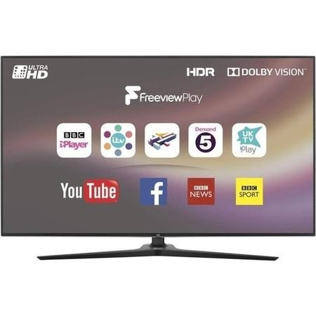 "GRADE A2 - JVC LT-49C888 49"" 4K Ultra HD Smart HDR LED TV with 1 Year Warranty"