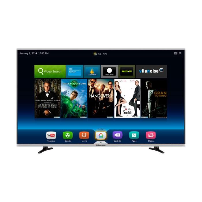 hisense ltdn50k370wtgeu 50 inch smart led tv appliances direct. Black Bedroom Furniture Sets. Home Design Ideas
