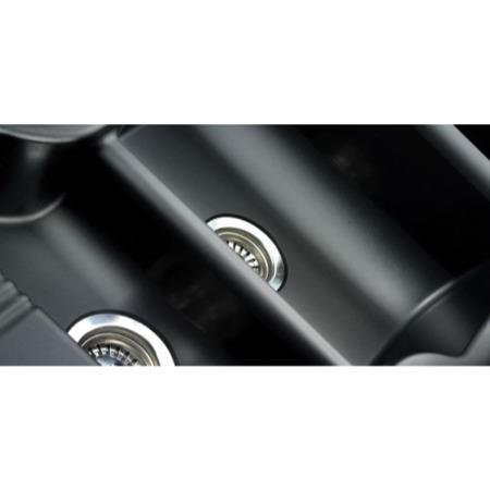 Rangemaster LU9852GB Lunar 985x508 1.5 Bowl Reversible Granite Black  Composite Sink