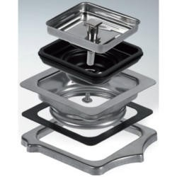 Reginox M2751 Chrome Square Waste Adaptor For Texas Sinks