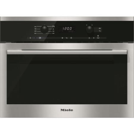 GRADE A1 - Miele M6160TC Built-in Microwave Oven