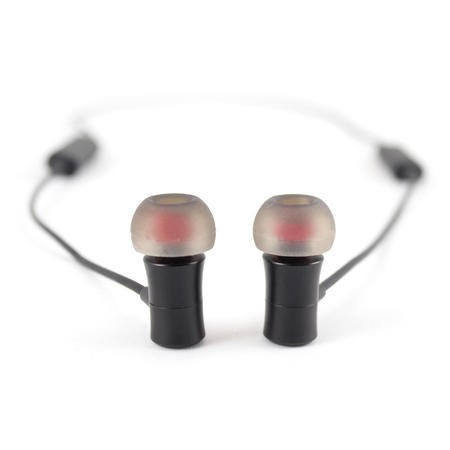Wireless Magnetic Bluetooth Hands-free Earphones In Black With NEW Magnetic On/Off Controls Like Beats X