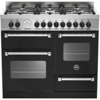 Bertazzoni MAS100-6-MFE-T-NEE Master XG 100cm Dual Fuel Range Cooker With 6 Burners 2 Ovens And Gril