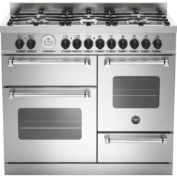 Bertazzoni MAS100-6-MFE-T-XE Master XG 100cm Dual Fuel Range Cooker With 6 Burners 2 Ovens And Grill