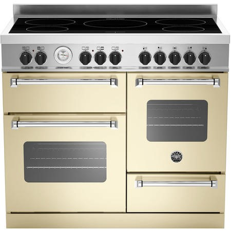 Bertazzoni MAS110-5I-MFE-T-CRE 110cm Bertazzoni Master Electric Range Cooker With Induction Hob